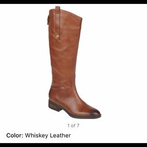 Sam Edelman Penny boot in whiskey leather 8.5